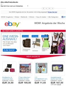 Mail von ebay