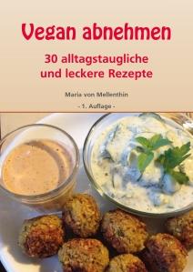 """Buchcover """"Vegan abnehmen - 30 alltagstaugliche und leckere Rezepte"""""""